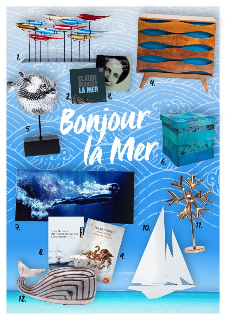 Collage Bonjour la Mer by KARE Design