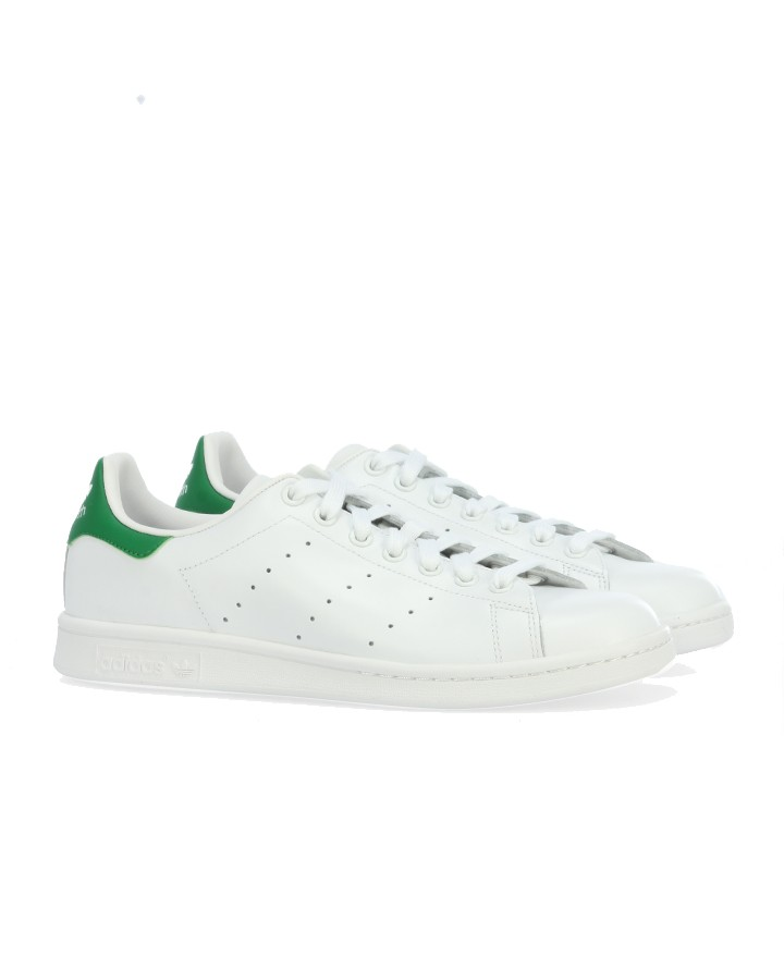 Adidas Originals STAN SMITH White/Green available at Stierblut