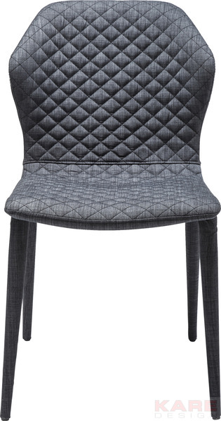 Chair Atlantis Dark Grey by KARE Design