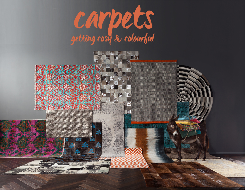 Inspiration and tips for buying carpets by KARE Design