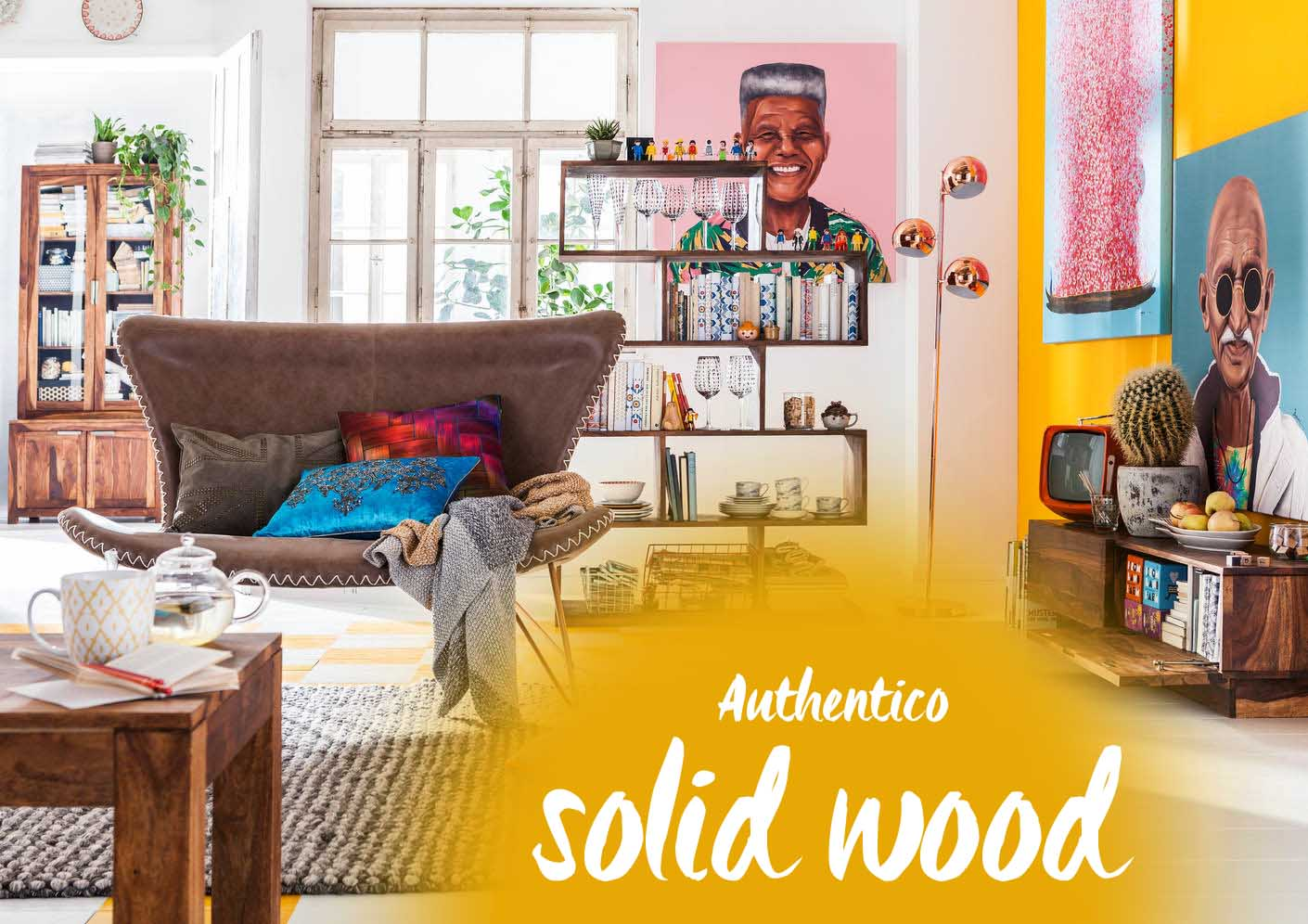 Modern and cozy the authentico solid wood furniture Room and board furniture quality