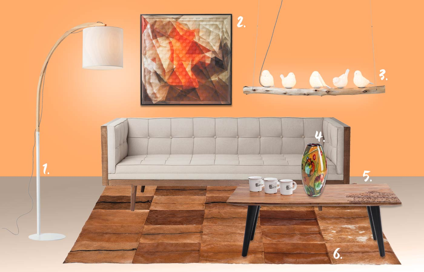 KARE-sofa-genf-styles-orange